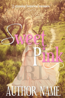 Sweet Pink - Historical Romance Cover